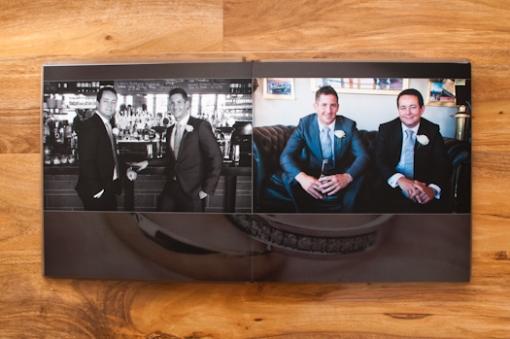 Wedding Album by Matt Harquail bespoke design graphistudio Italy hand made