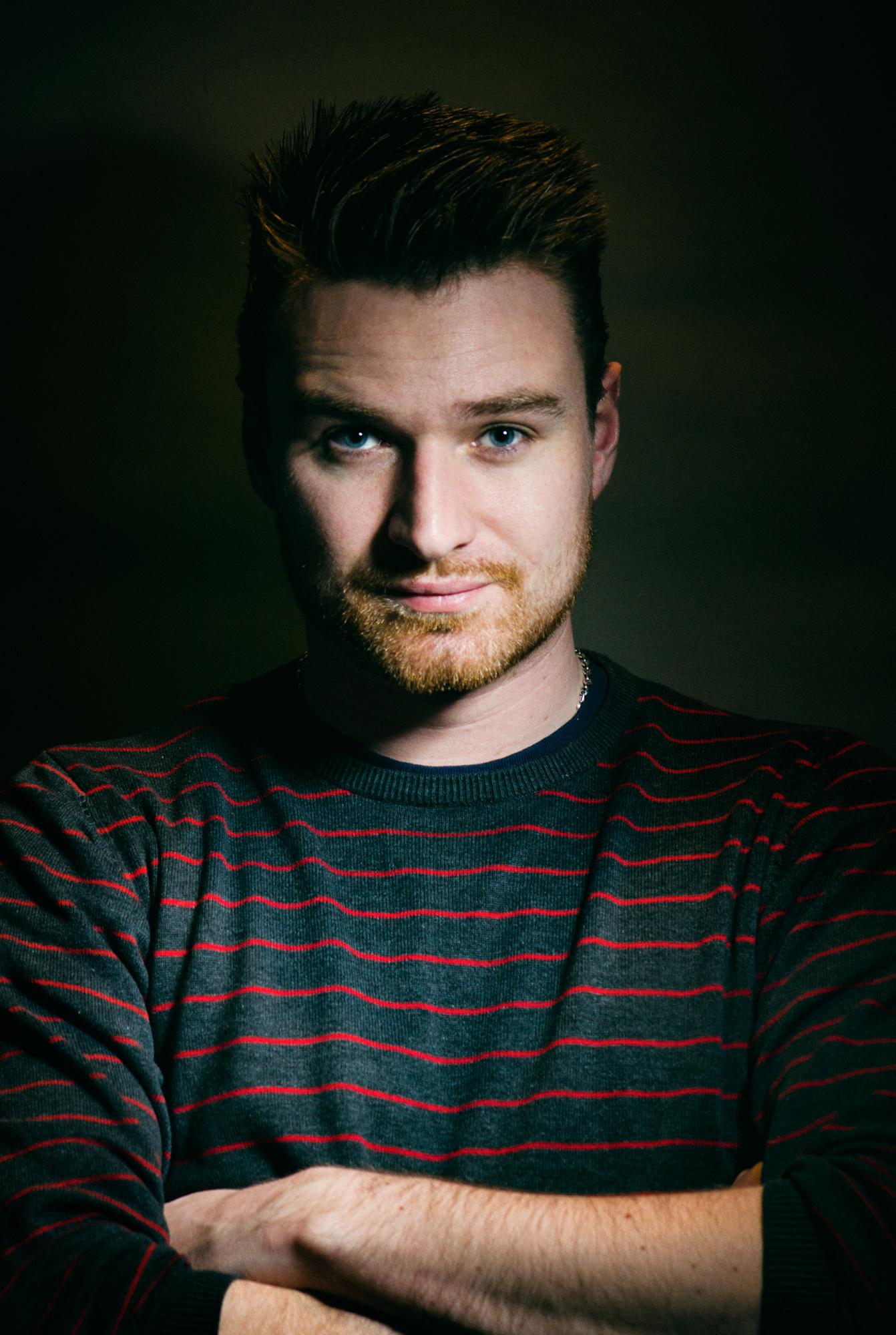 Matt ahrquail self portrait